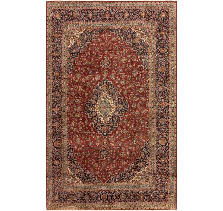9' 8 x 15' 6 Kashan Persian Rug