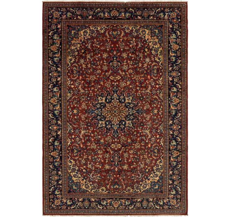 295cm x 437cm Mashad Persian Rug
