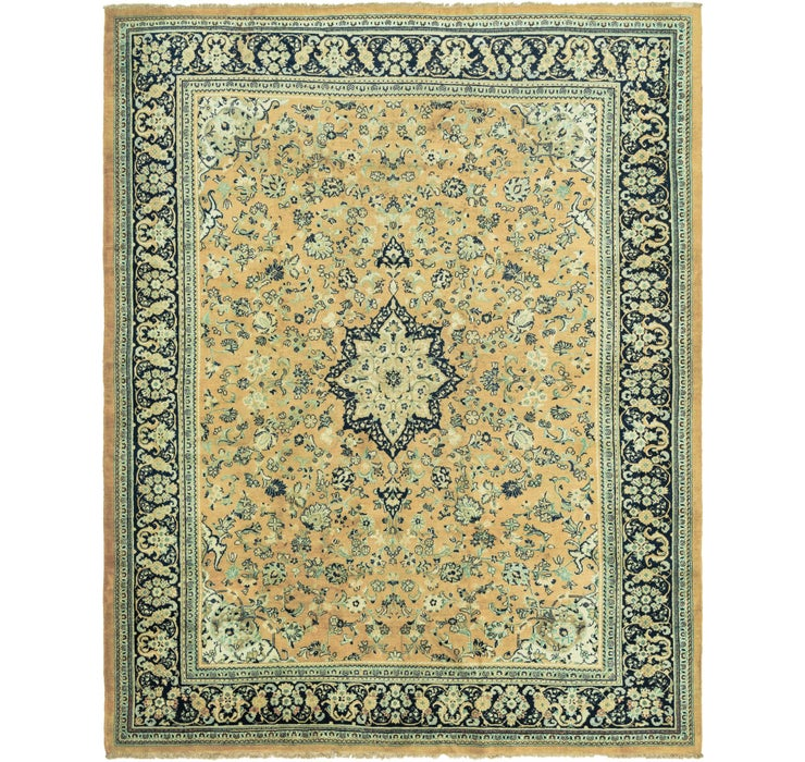 10' 8 x 13' 9 Meshkabad Persian Rug