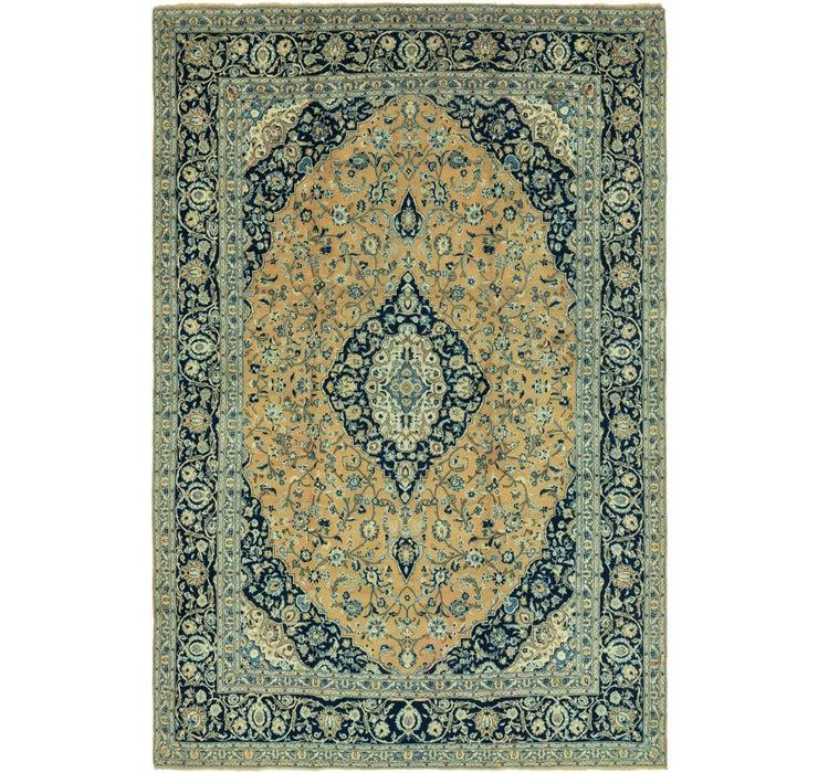9' 8 x 14' 4 Kashan Persian Rug
