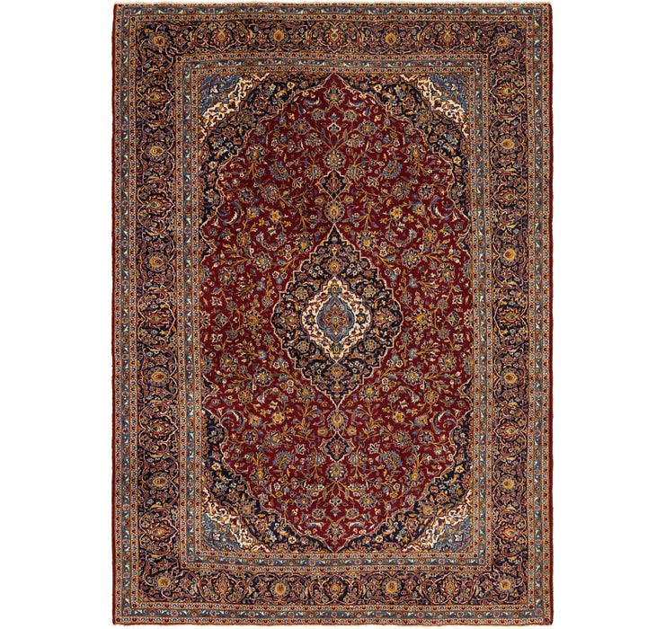 305cm x 432cm Kashan Persian Rug
