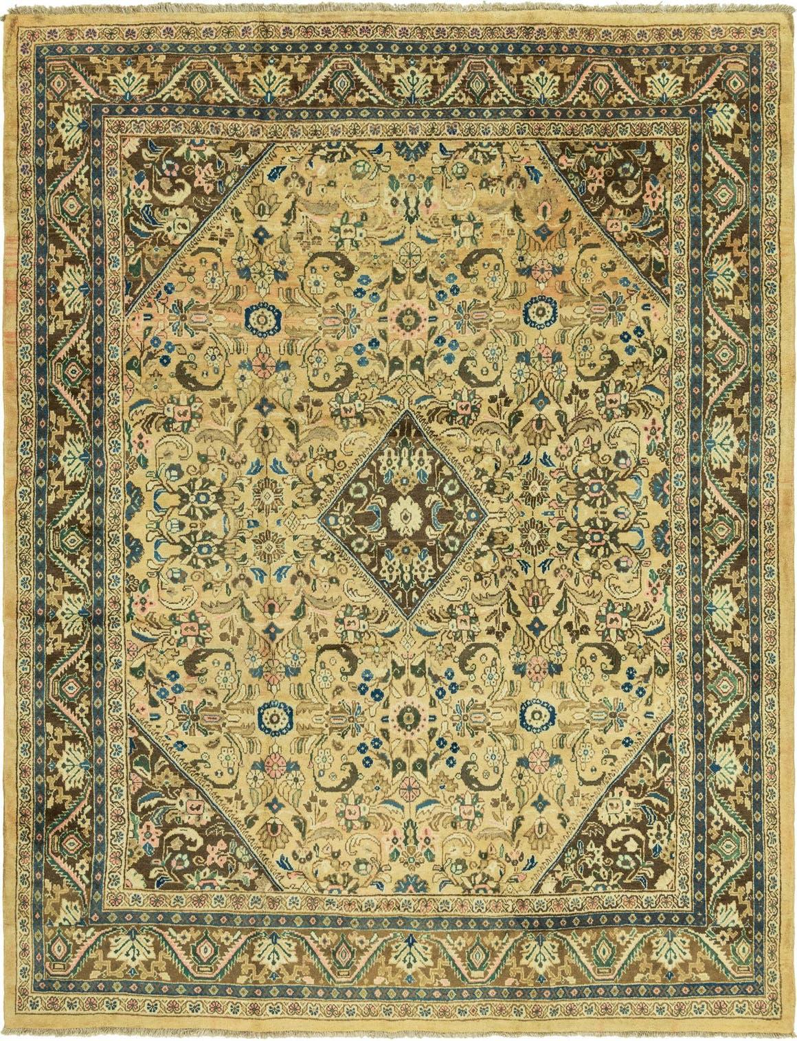 9' 10 x 13' Farahan Persian Rug main image