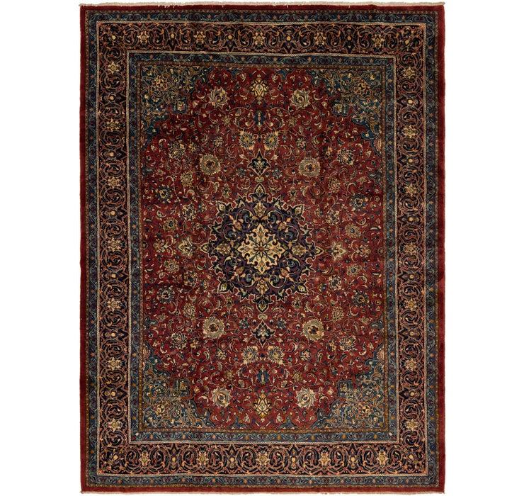 9' 9 x 13' 3 Sarough Persian Rug