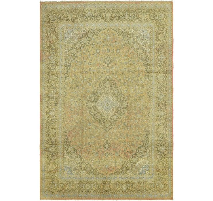10' 2 x 15' 4 Kashan Persian Rug