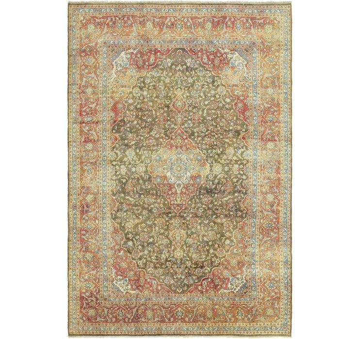 9' 10 x 14' 10 Kashan Persian Rug