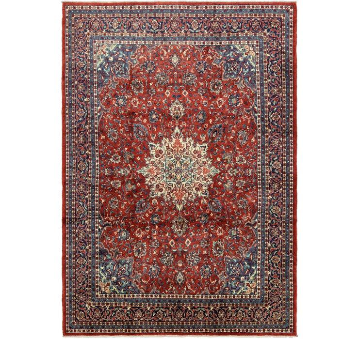 Image of 9' 7 x 14' Farahan Persian Rug