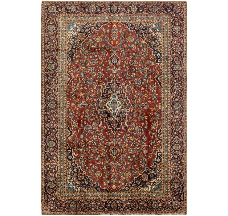 230cm x 343cm Kashan Persian Rug