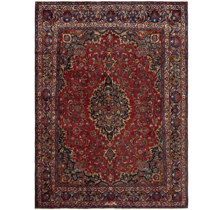 7' 10 x 11' 3 Mashad Persian Rug
