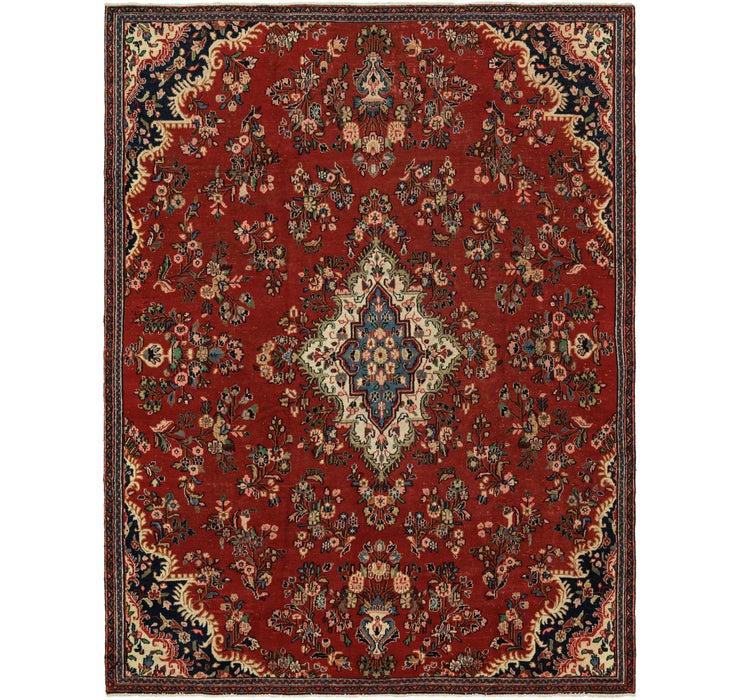 8' 4 x 11' Shahrbaft Persian Rug