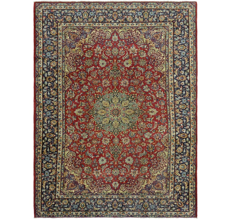 300cm x 415cm Isfahan Persian Rug
