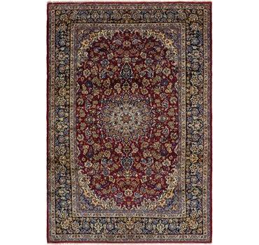9' 8 x 14' 3 Isfahan Persian Rug main image
