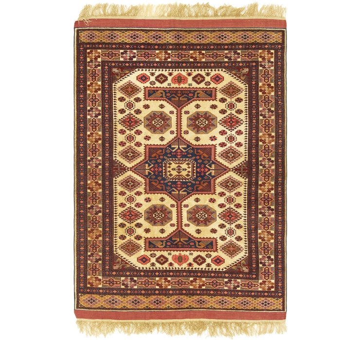 3' 8 x 5' 8 Kazak Oriental Rug