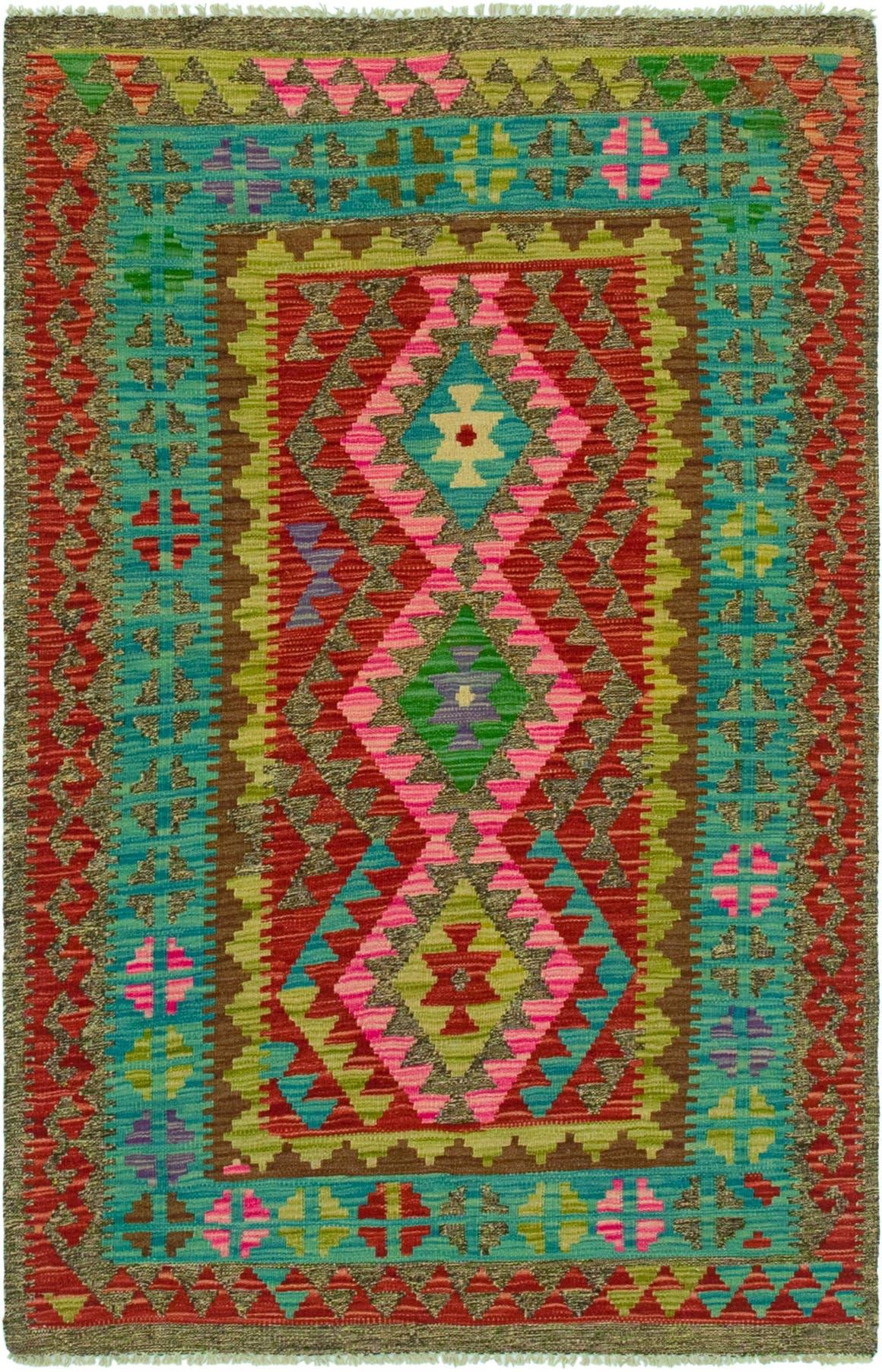 3' 5 x 5' 4 Kilim Maymana Rug main image