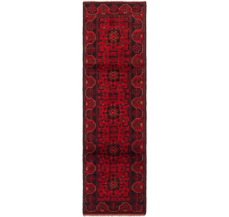 2' 7 x 9' 8 Khal Mohammadi Runner Rug