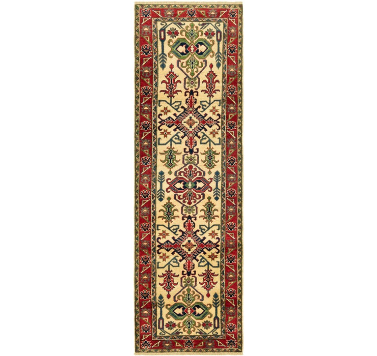 2' 9 x 9' 8 Kazak Runner Rug