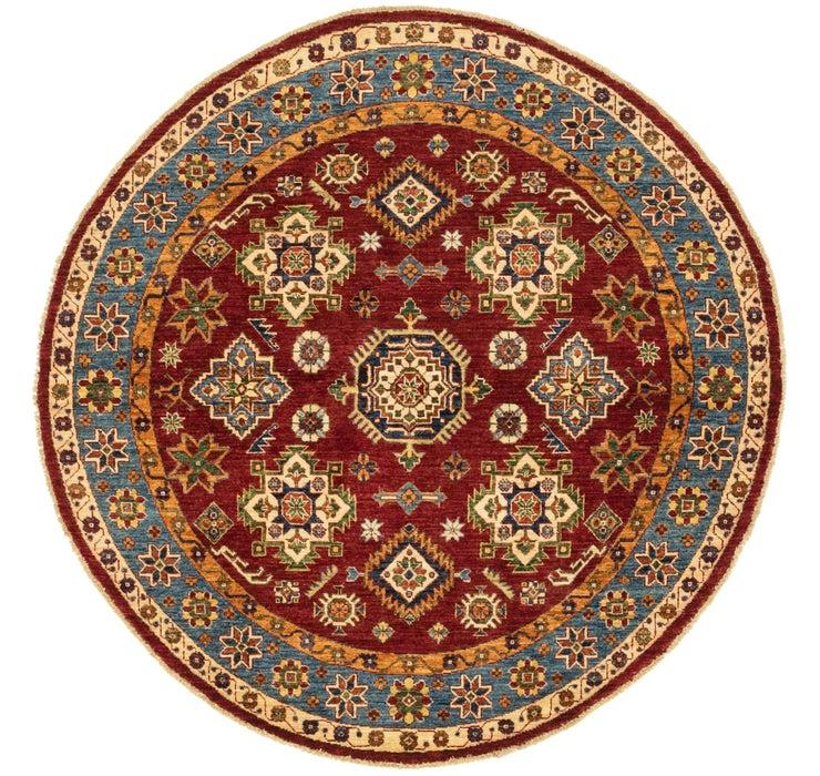 5' 6 x 5' 6 Kazak Oriental Round Rug