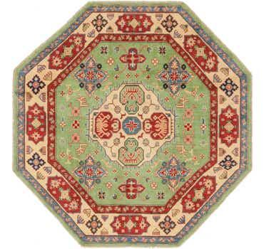 Image of 6' 2 x 6' 4 Kazak Oriental Octagon ...