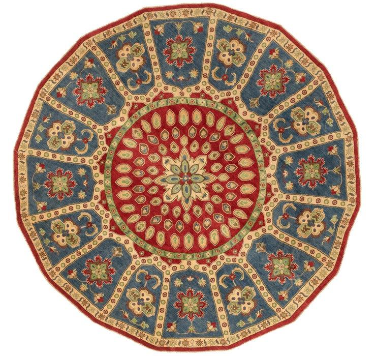 9' 8 x 9' 8 Kazak Oriental Round Rug