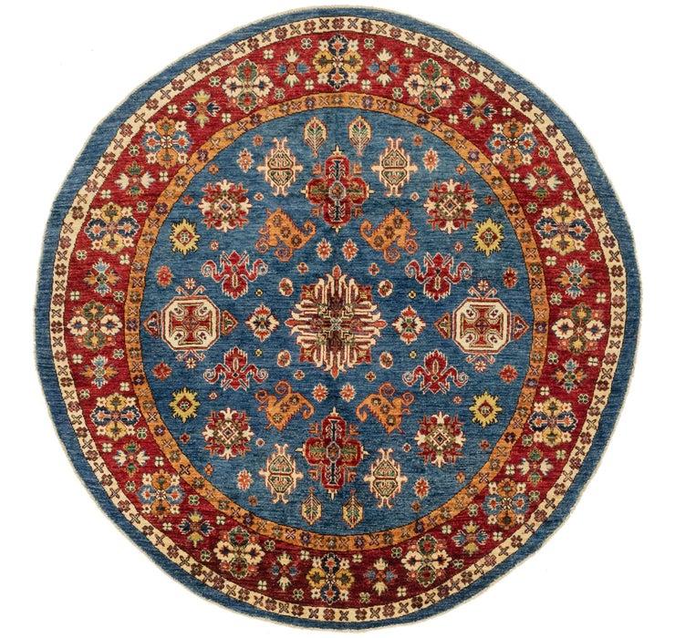 170cm x 173cm Kazak Oriental Round Rug