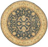 8' 11 x 8' 11 Peshawar Ziegler Round Rug thumbnail
