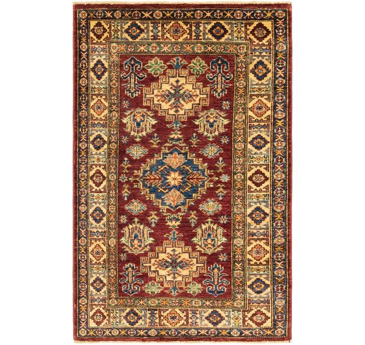 80cm x 132cm Kazak Oriental Rug