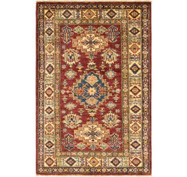Image of 2' 9 x 4' 2 Kazak Oriental Rug