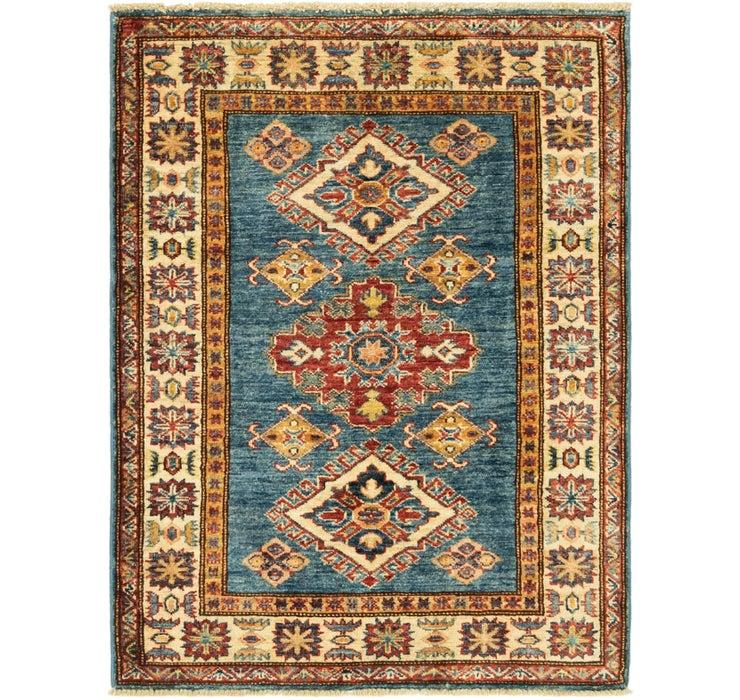85cm x 115cm Kazak Oriental Rug