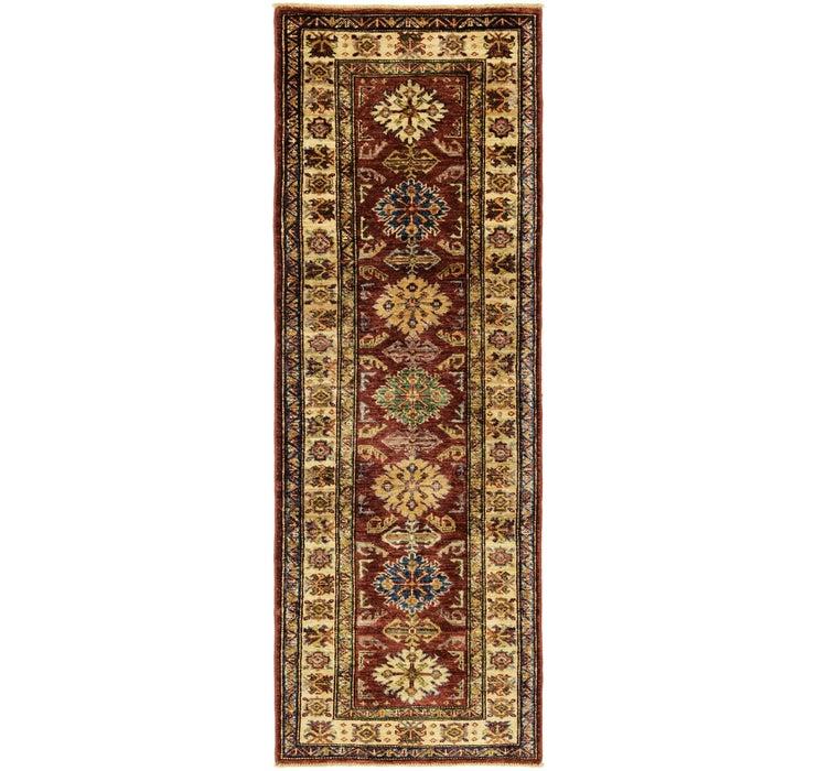 2' 1 x 6' 1 Kazak Oriental Runner Rug