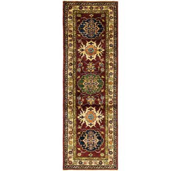 2' x 6' 2 Kazak Oriental Runner Rug