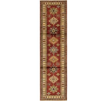 2' 7 x 10' Kazak Oriental Runner Rug main image
