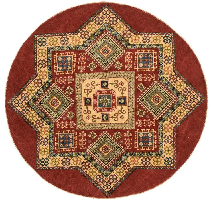 8' 2 x 8' 2 Kazak Oriental Round Rug