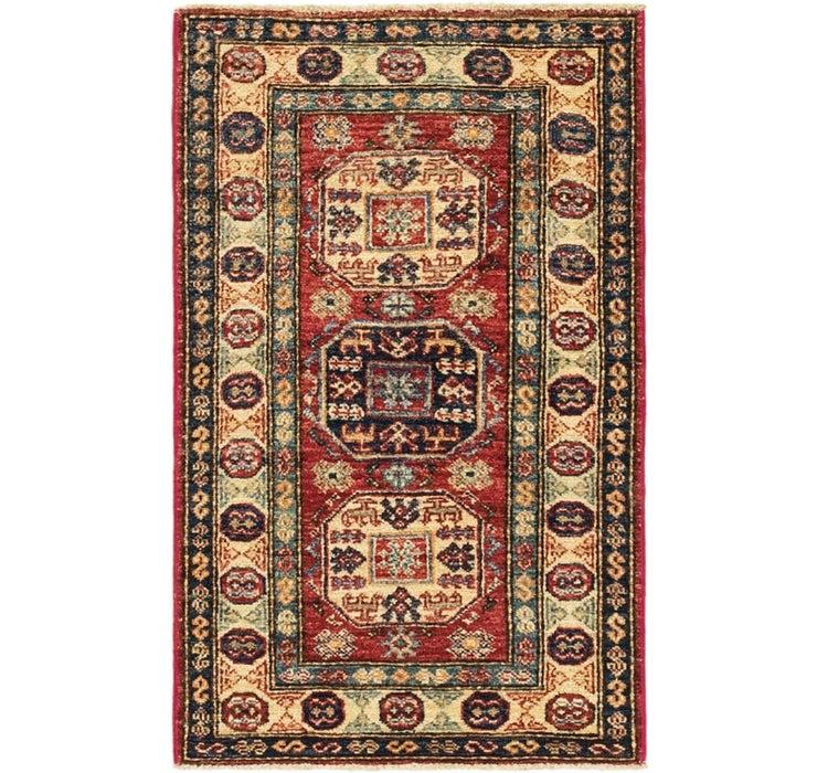55cm x 97cm Kazak Oriental Rug