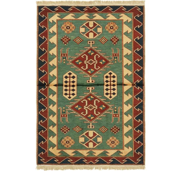 97cm x 145cm Shirvan Persian Rug