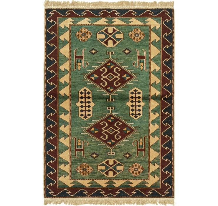 100cm x 145cm Shirvan Persian Rug