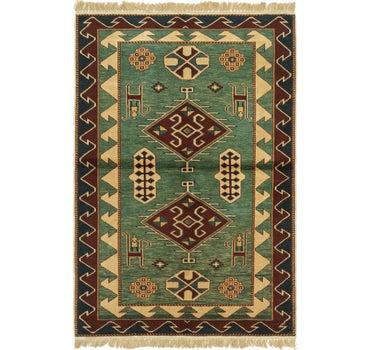 3' 3 x 4' 9 Shirvan Persian Rug main image