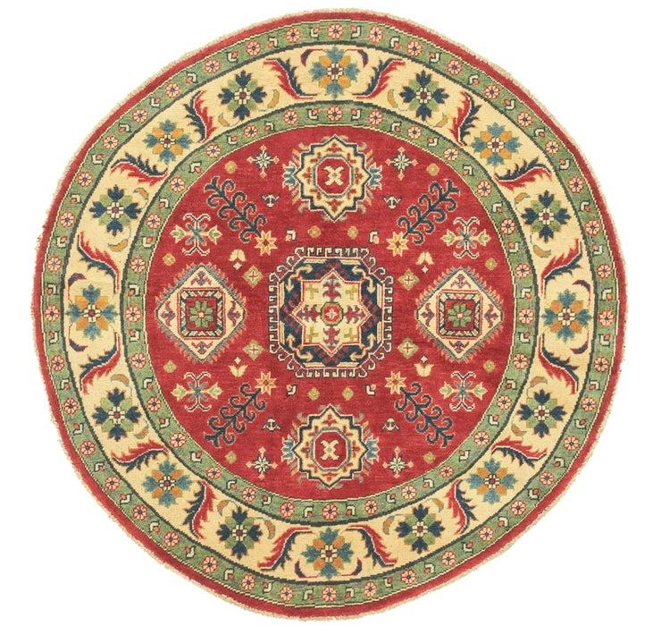 4' 9 x 4' 10 Kazak Round Rug