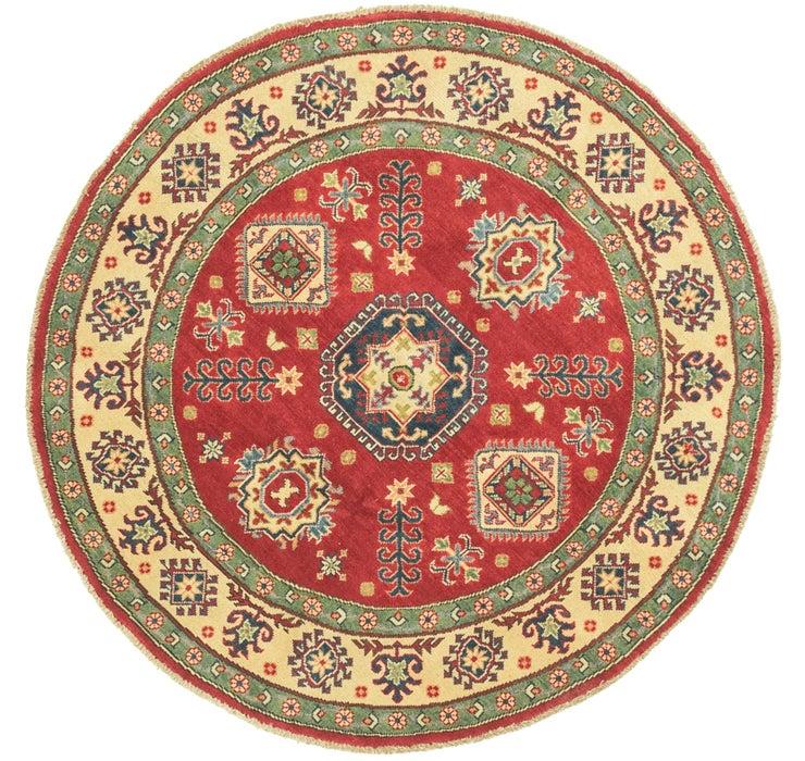 4' 11 x 5' Kazak Round Rug