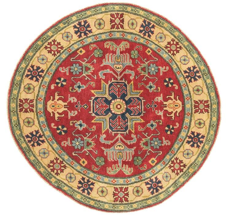 5' 1 x 5' 1 Kazak Round Rug