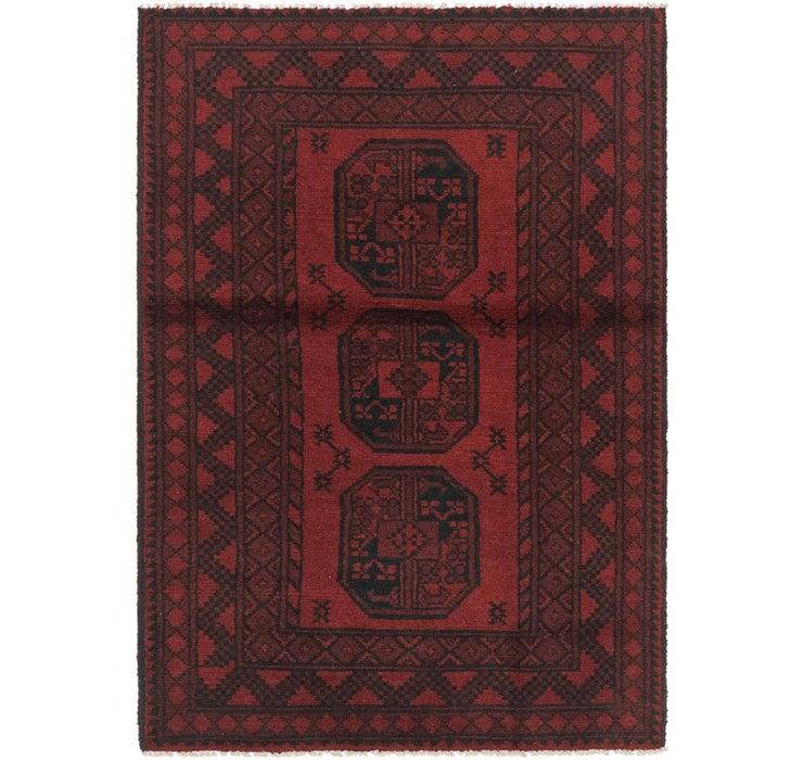 97cm x 145cm Afghan Akhche Rug
