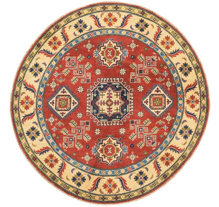 5' 6 x 5' 7 Kazak Round Rug