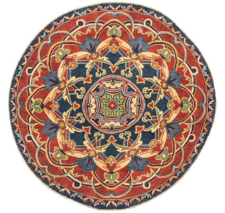 4' 11 x 4' 11 Kazak Round Rug
