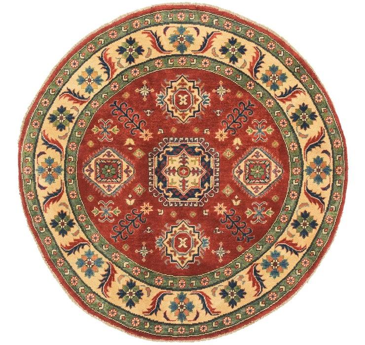 150cm x 152cm Kazak Round Rug