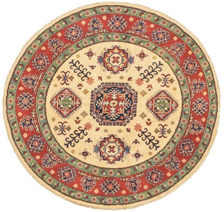 4' 9 x 4' 11 Kazak Round Rug