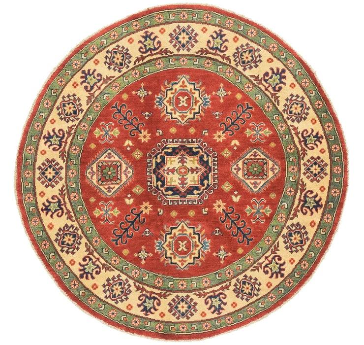 4' 10 x 4' 10 Kazak Round Rug