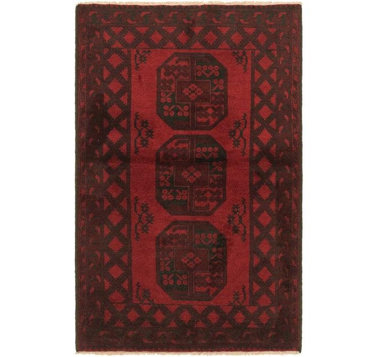 100cm x 160cm Afghan Akhche Rug