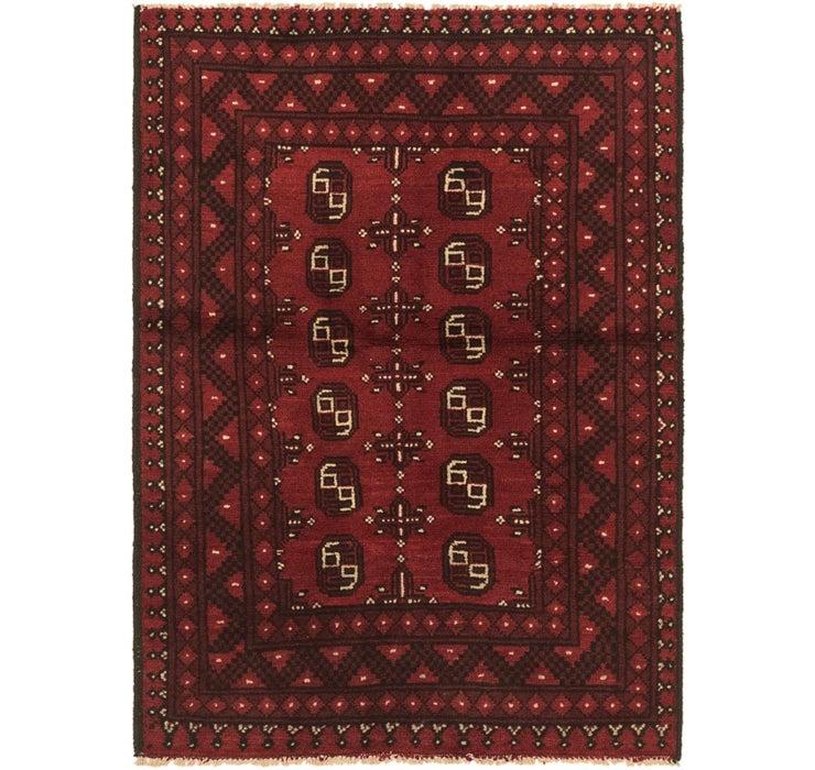 100cm x 145cm Afghan Akhche Rug