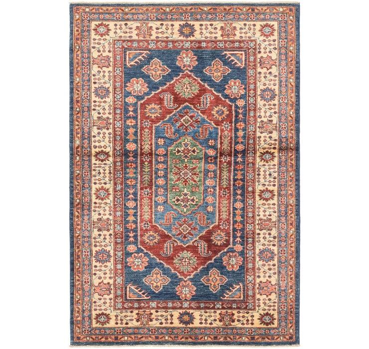 3' 4 x 5' 1 Kazak Oriental Rug