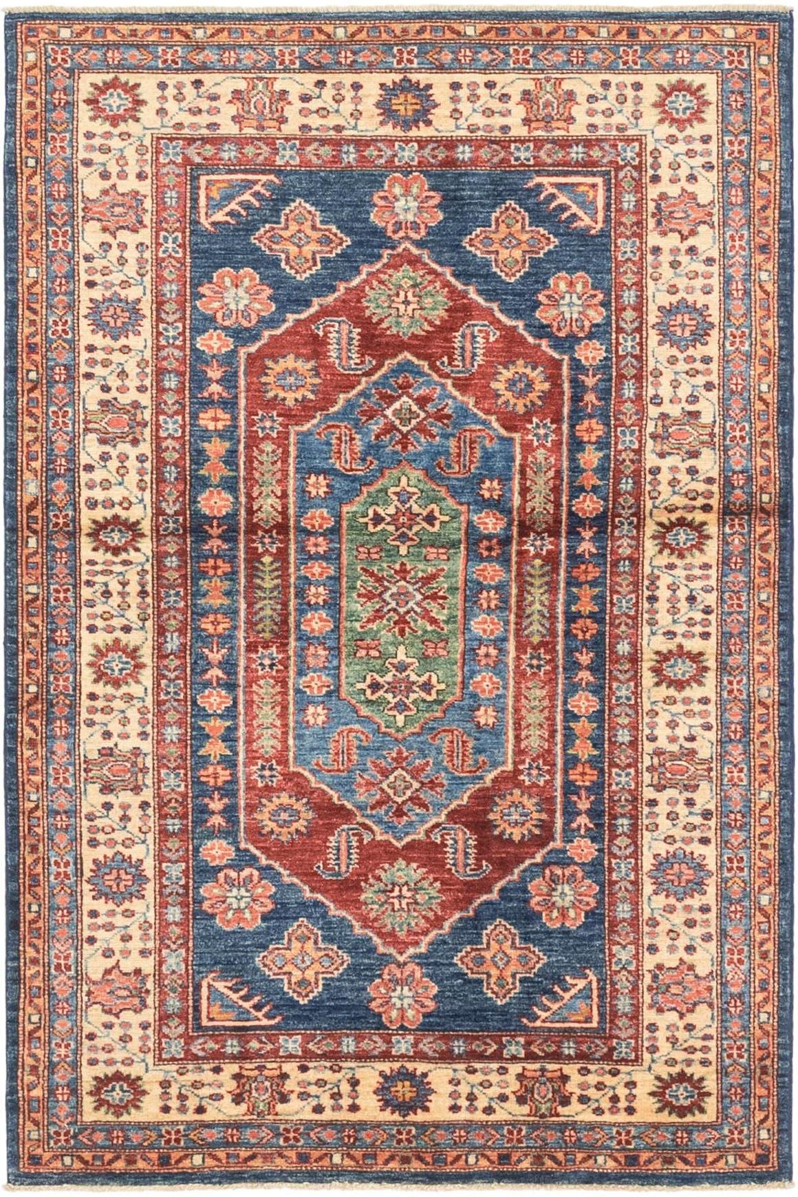 3' 4 x 5' 1 Kazak Oriental Rug main image