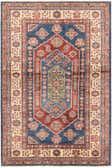 3' 4 x 5' 1 Kazak Oriental Rug thumbnail