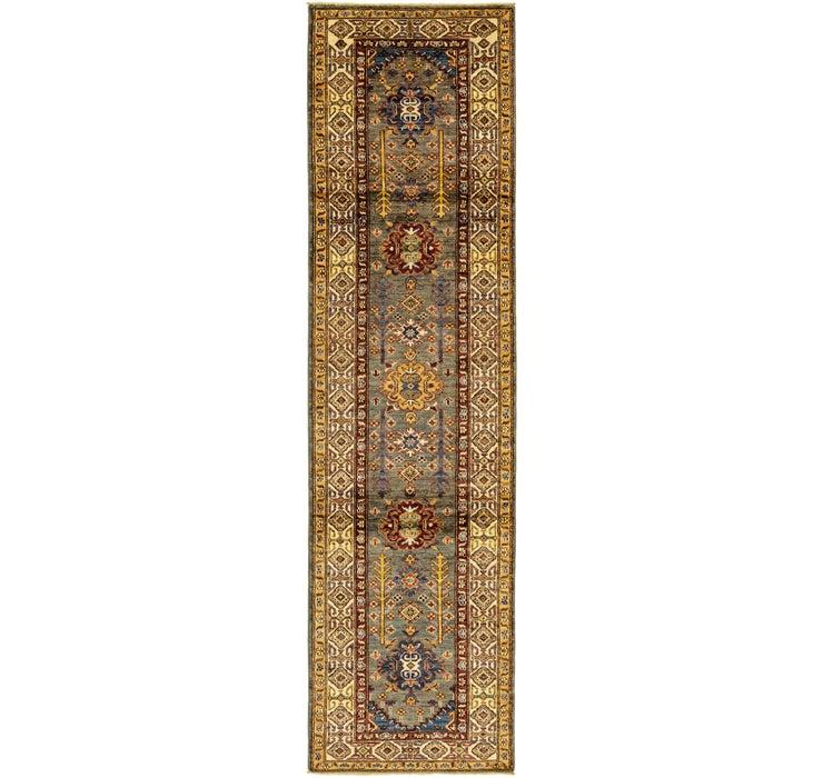 2' 7 x 9' 10 Kazak Oriental Runner Rug